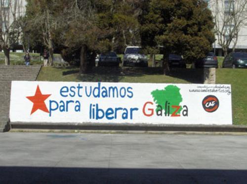 Estudamos para liberar Galiza