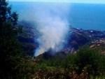 Fire in Covao consumes zona de Mato