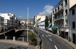 New street in Funchal