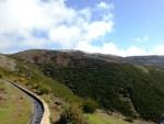 Tourist Falls on Levada