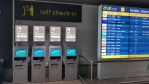 New self check-in and seating at Airport