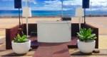 "Atlanticulture Beach opens Friday at Machico Forum, concept has signature of ""Cristiano Ronaldo's professional catering management"", hotel comes next"