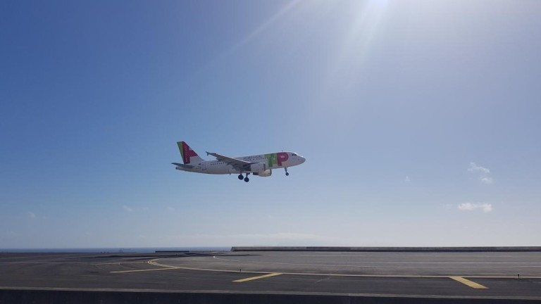 Gusts up to 72 km / h prevented landings in Madeira for 3 hours