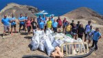 300 KG OF MARINE LITTER REMOVED FROM PORTO SANTO