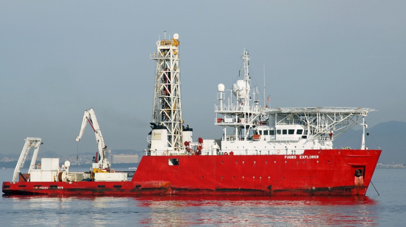 Fugro Scout in Madeira for a short stop