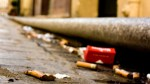 FINES UP TO 250 EUROS FOR ANYONE WHO THROWS CIGARETTE ENDS TO THE GROUND