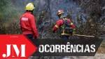 FIRE IN SÃO VICENTE EXTINGUISHED, BUT WITH PREVENTION ON THE GROUND