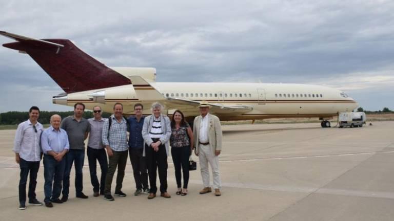American multimillionaire plane lands Saturday in Madeira