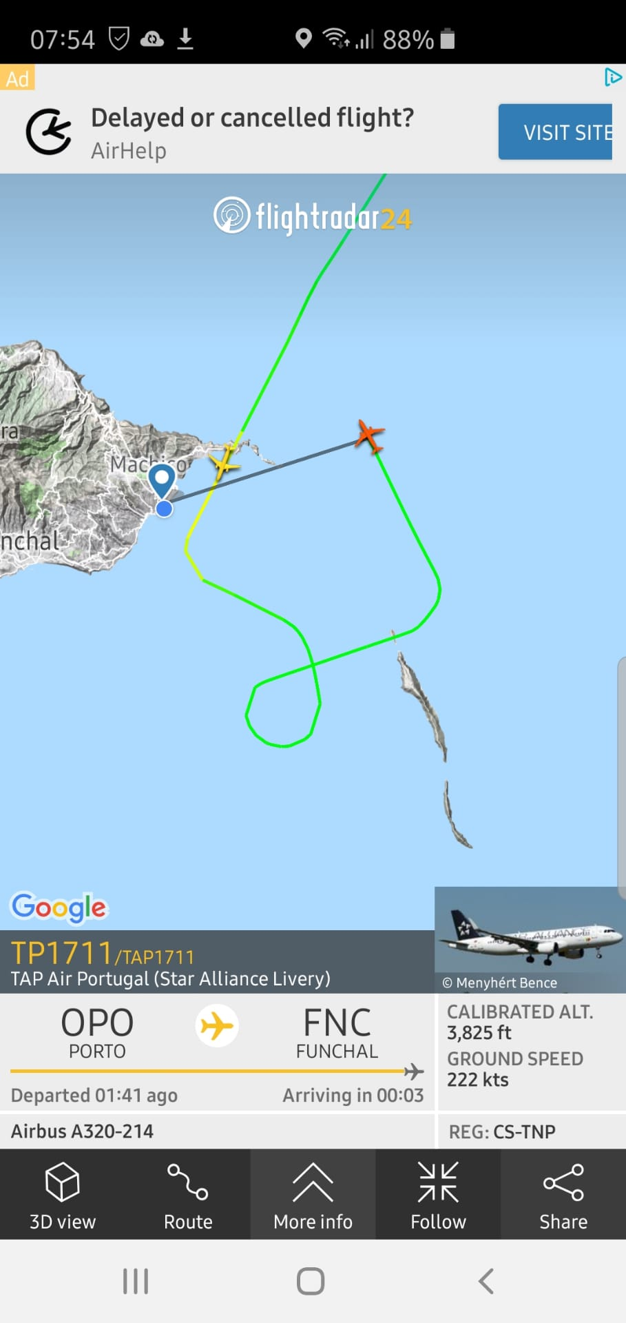 Wind causing delays and diversions at airport