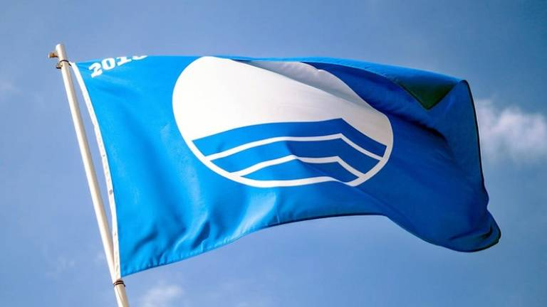 Blue flag lowered from Santa Cruz beach due to wastewater discharges