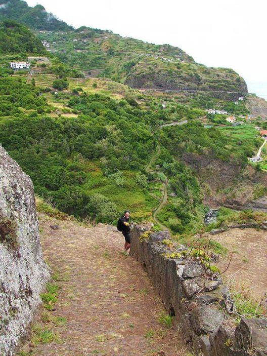boaventura jurgen cliff path sao jorge
