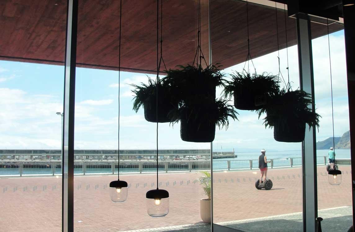 pestana lobby view on harbour