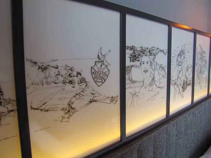 ronaldo geschiedenis in sketches in madeira hotel ronaldo