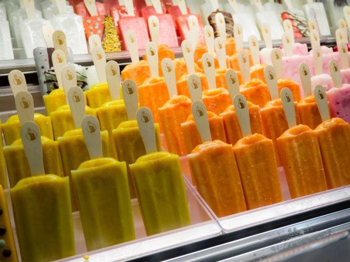 Geladaria Mil Sabores base popsicles