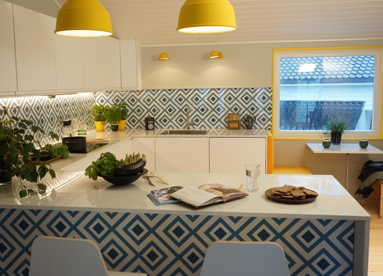 Cozinha Design Biofílico Plantas Verde Decoração