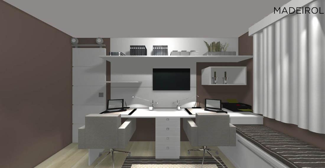 Projetos de estantes planejadas  Madeirol  3000 projetos