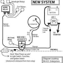 Alternator To Battery Wiring Diagram Helium Atom Starter Great Installation Of Catalog Rh Madelectrical Com 24 Volt Gm 1 Wire