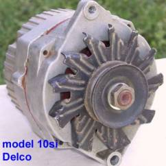 Delco 7si Alternator Wiring Diagram 2006 Sebring Fuse Box Catalog The Photo Above Shows A Typical Used Model 10si Remy Built