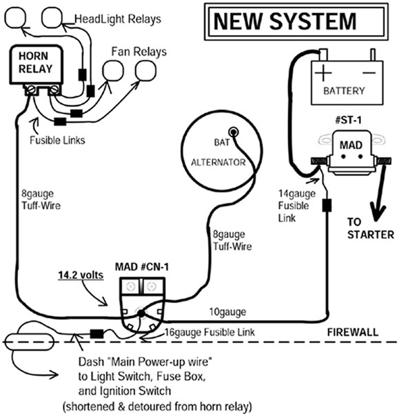 Chevy 350 Alternator Voltage Regulator Wiring Diagram