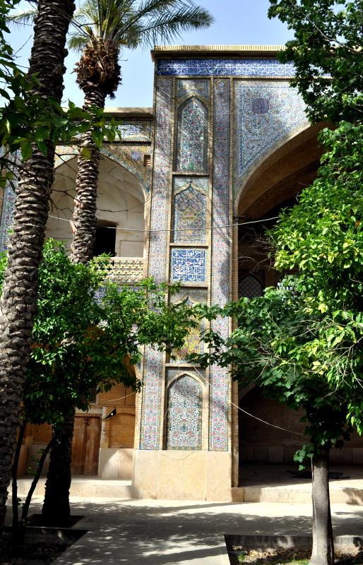 La madrasa du Khn  Shiraz