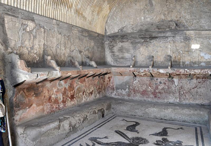Herculanum  Le site de Madeleine et Pascal