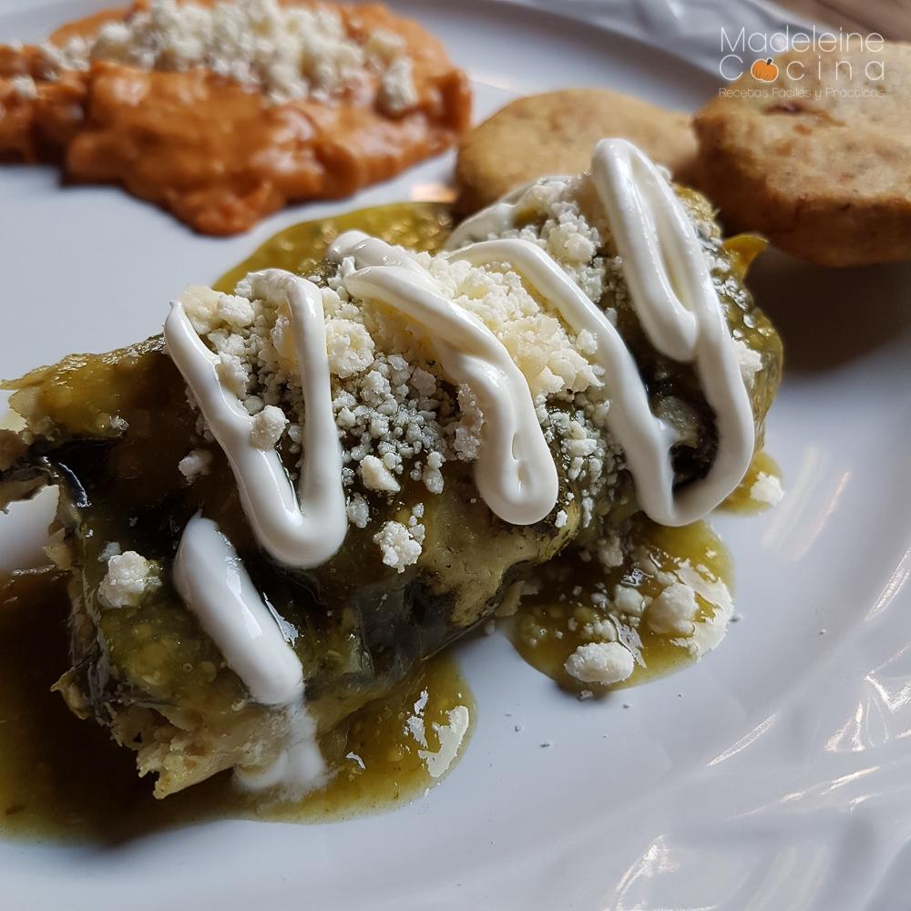 Tamales de acelga SabasQue  Madeleine Cocina