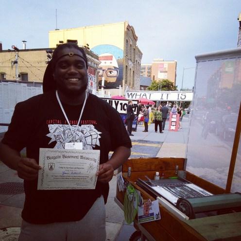 Bargain Basement University Capital Fringe Festival 2014