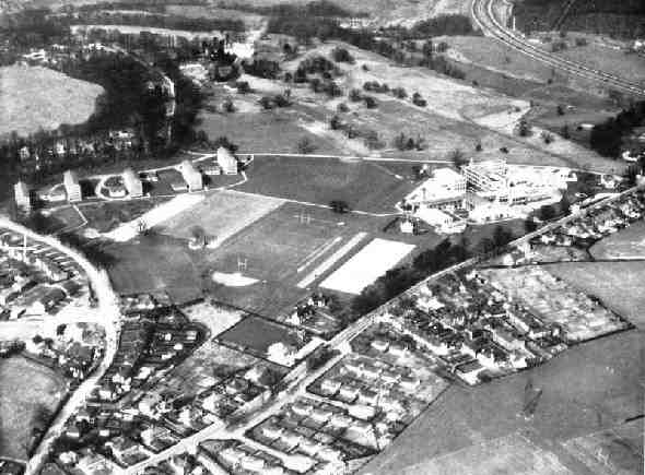 Madeley College Aerial View