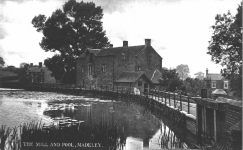 Mill and Pool in the Early 1900s