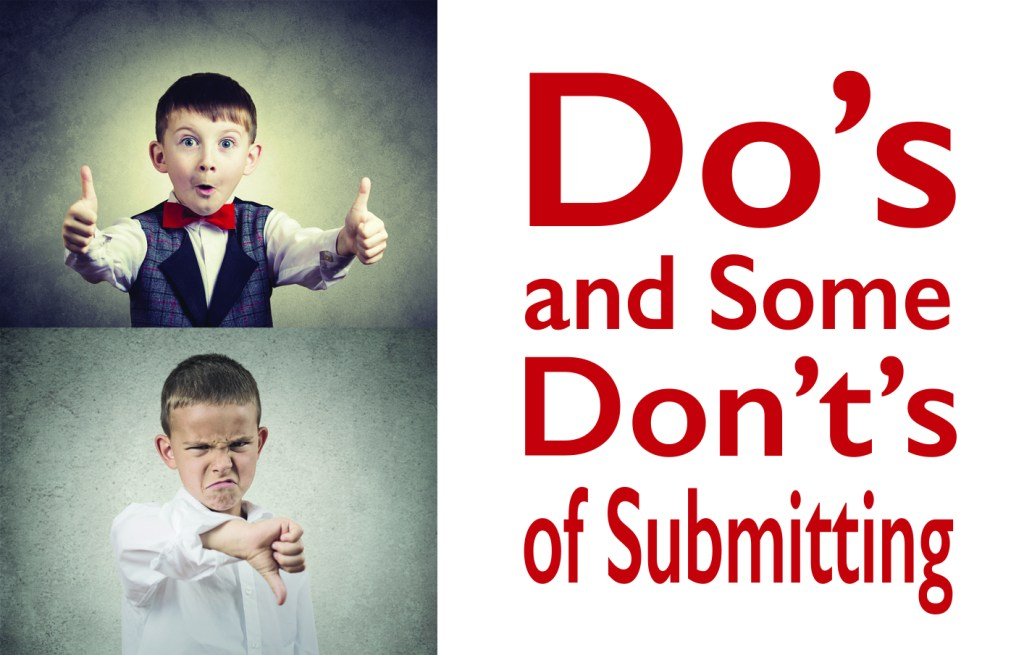 Do's and Don't's for submissions image