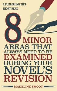 8 Minor Areas That Always Need to Be Examined During Your Novel's Revision