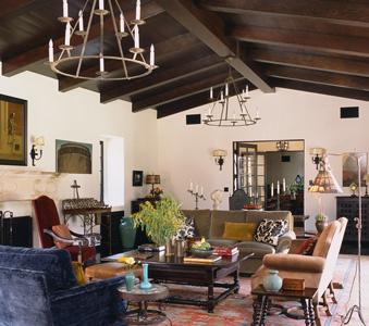 Interiors  Spanish Hacienda  Madeline Stuart