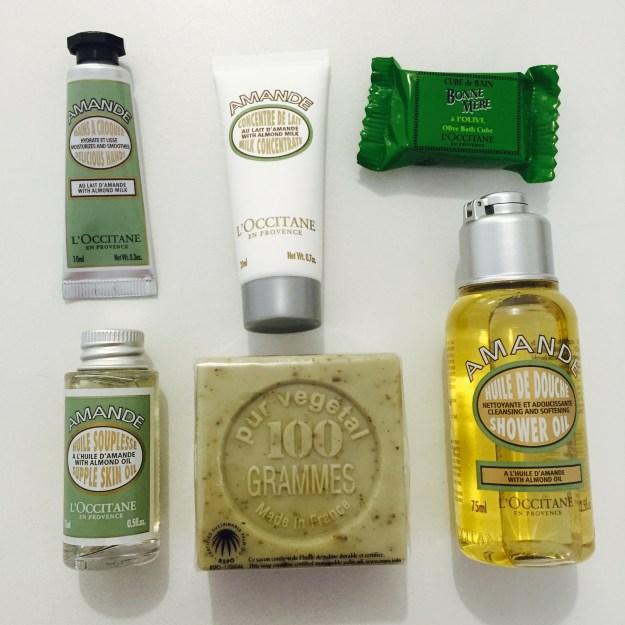 Concours occitane - produits