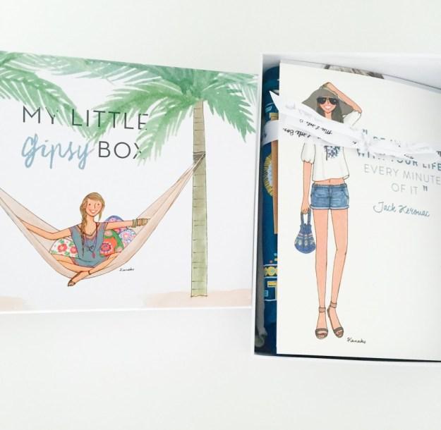 Gipsy box - ouverture