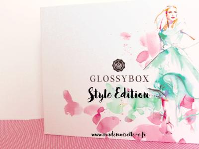 glossybox d'avril présentation_mademoiselle-e