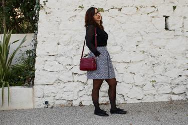 jupe en laine profil mademoiselle-e