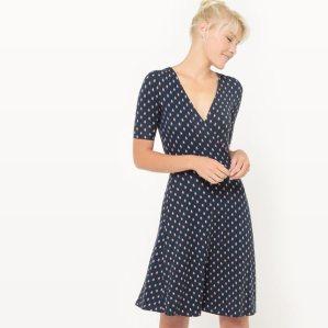 R edition robe portefeuille mademoiselle e