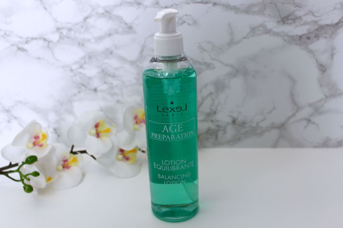 routine visage lexel lotion equilibrante mademoiselle e