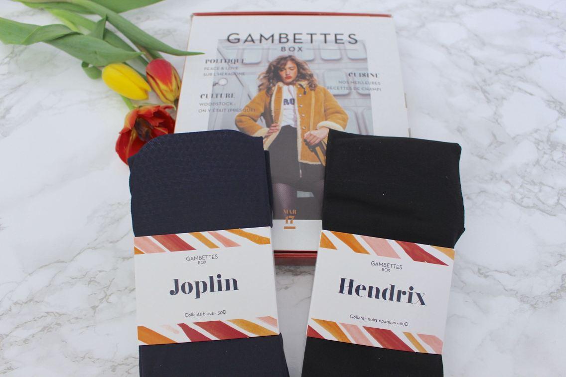 gambettes box de mars contenu mademoiselle e