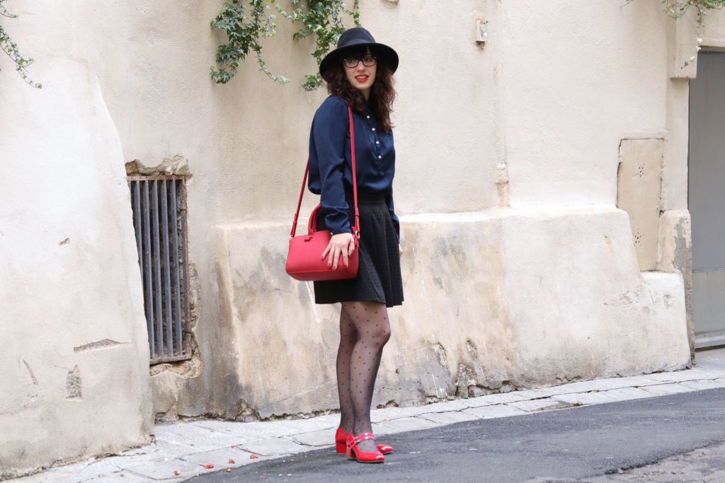trench look preppy 2 mademoiselle E