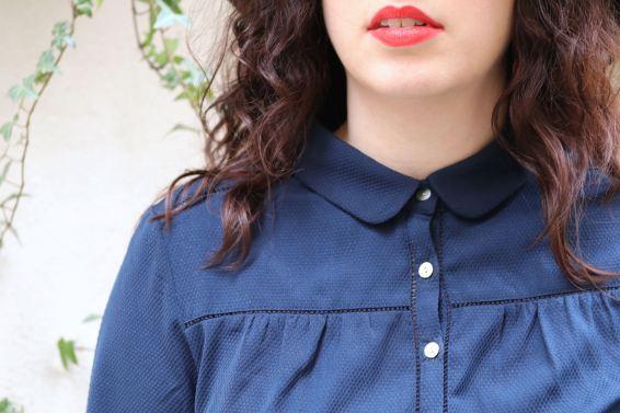 trench chemise kiabi détails mademoiselle E