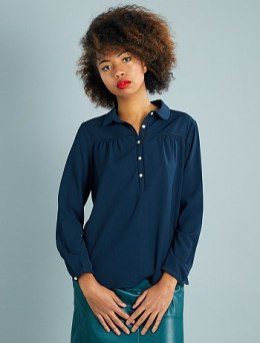 HAUL Kiabi blouse-maille-gaufree-col-claudine-bleu-marine-femme-vf104_1_fr2