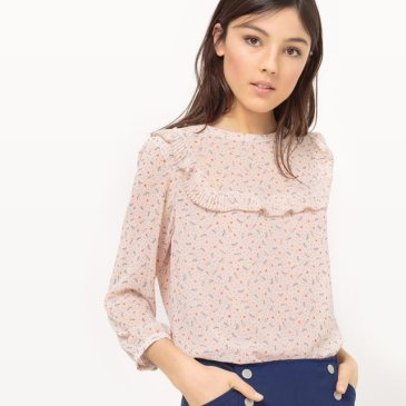 Blouse a volants mademoiselle r