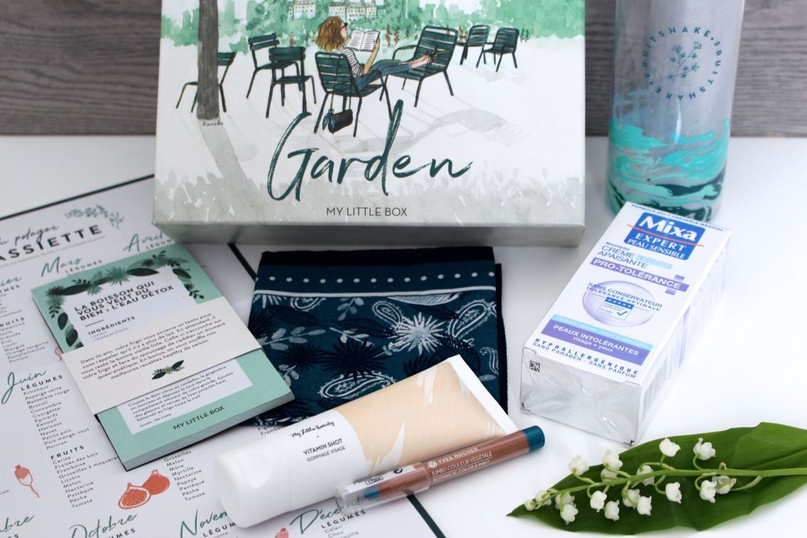 My Little box avril 2017 contenu mademoiselle-e