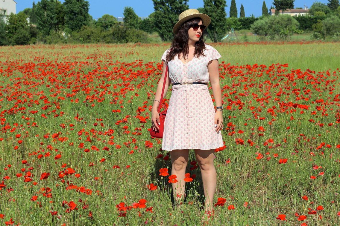 robe imprimée 3 mademoiselle e