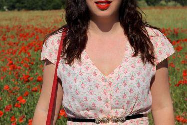 robe imprimée 18 mademoiselle e