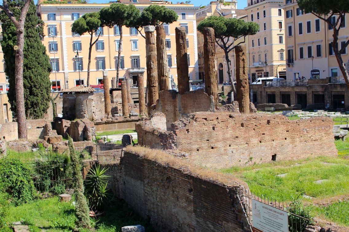 Rome city guide refuge chats mademoiselle-e