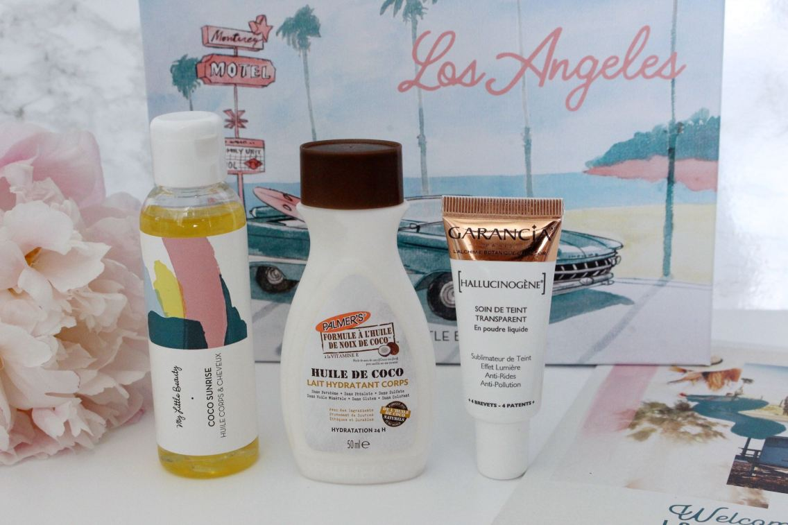 My Little box juin los angeles produits mademoiselle-e
