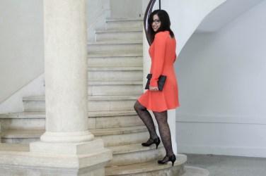 robe orange mademoiselle r 6 mademoiselle e