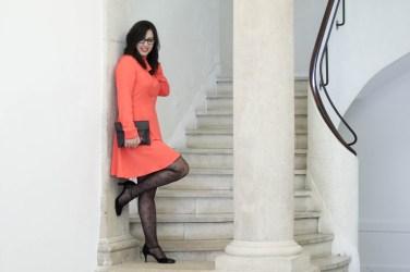 robe orange mademoiselle r 18 mademoiselle e